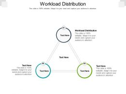 Workload Distribution Ppt Powerpoint Presentation Infographic Template Vector Cpb