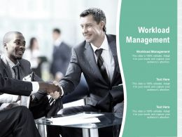 Workload Management Ppt Powerpoint Infographics Slide Download Cpb