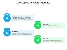 Workplace Accident Statistics Ppt Powerpoint Presentation Professional Cpb