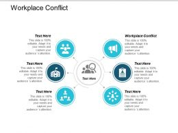 Workplace Conflict Ppt Powerpoint Presentation Ideas Show Cpb