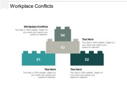 Workplace Conflicts Ppt Powerpoint Presentation Professional Sample Cpb