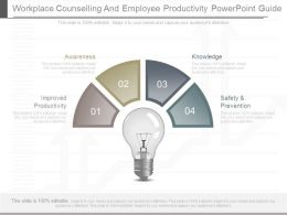 Workplace Counselling And Employee Productivity Powerpoint Guide