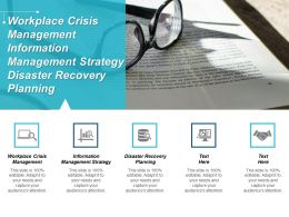 Workplace Crisis Management Information Management Strategy Disaster Recovery Planning Cpb