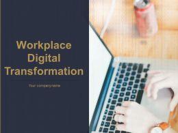 Workplace Digital Transformation Powerpoint Presentation Slides