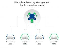 Workplace Diversity Management Implementation Issues