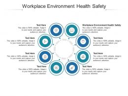 Workplace Environment Health Safety Ppt Powerpoint Presentation File Template Cpb