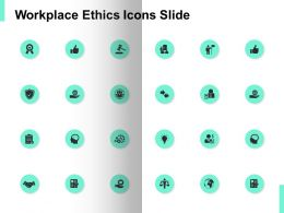 Workplace Ethics Icons Slide Success Technology Ppt Powerpoint Presentation Ideas Gallery