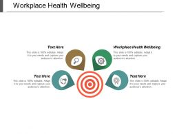 Workplace Health Wellbeing Ppt Powerpoint Presentation Inspiration Slide Portrait Cpb