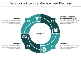 Workplace Incentive Management Program Ppt Powerpoint Presentation File Vector Cpb