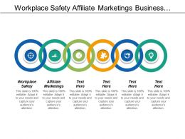Workplace Safety Affiliate Marketing Business Personnel Commission Structure