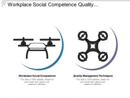 Workplace Social Competence Quality Management Techniques Marketing Strategy Cpb