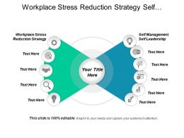 Workplace Stress Reduction Strategy Self Management Self Leadership Cpb