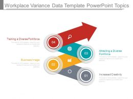 Workplace Variance Data Template Powerpoint Topics