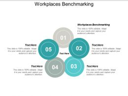Workplaces Benchmarking Ppt Powerpoint Presentation Model Slide Cpb