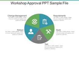 Workshop Approval Ppt Sample File