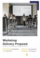 Workshop Delivery Proposal Example Document Report Doc Pdf Ppt