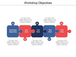 Workshop Objectives Ppt Powerpoint Presentation Infographic Template Elements Cpb