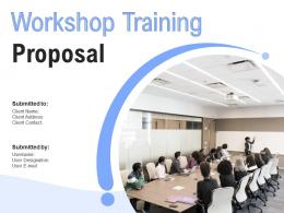 Workshop Training Proposal Powerpoint Presentation Slides