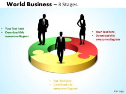 World Business 3 Stages