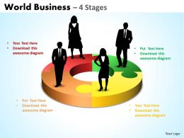 World Business 4 diagram Stages 20