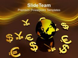 World Currency Global Business Powerpoint Templates Ppt Themes And Graphics