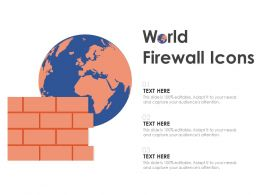 World Firewall Icons