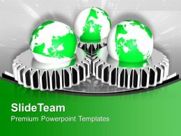 World Gear Mechanism Industrial Powerpoint Templates Ppt Themes And Graphics 0313