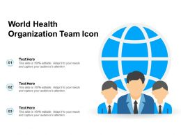 World Health Organization Team Icon