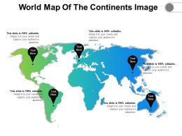 World Map Of The Continents Image