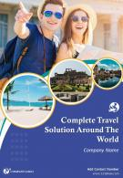 World Travel Agency Four Page Brochure Template
