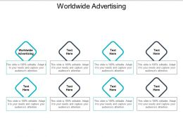 Worldwide Advertising Ppt Powerpoint Presentation Gallery Template Cpb