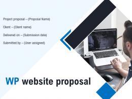 WP Website Proposal Powerpoint Presentation Slides