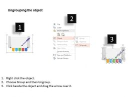 wq_five_banners_with_paper_roll_and_pen_diagram_flat_powerpoint_design_Slide03