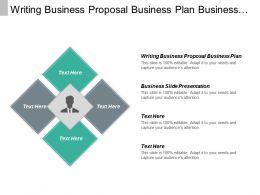 Writing Business Proposal Business Plan Business Slide Presentation Cpb