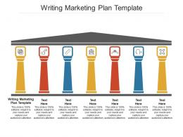 Writing Marketing Plan Template Ppt Powerpoint Presentation Gallery Slides Cpb