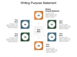 Writing Purpose Statement Ppt Powerpoint Presentation Gallery Slide Cpb