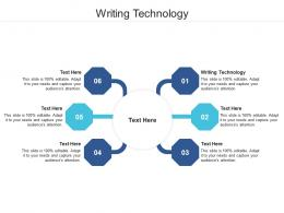 Writing Technology Ppt Powerpoint Presentation Styles Samples Cpb