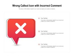 Wrong Callout Icon With Incorrect Comment