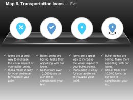 Wrong Location Right Place Gps Navigation Ppt Icons Graphics