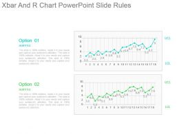 Xbar And R Chart Powerpoint Slide Rules
