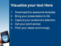Xray Medical PowerPoint Template 0610  Presentation Themes and Graphics Slide02