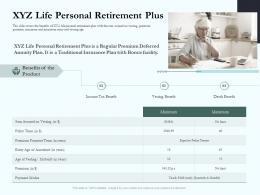 XYZ Life Personal Retirement Plus Social Pension Ppt Rules
