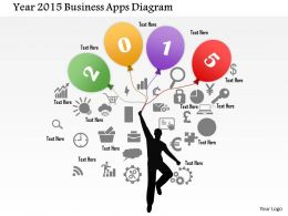 year_2015_business_apps_diagram_powerpoint_template_Slide01
