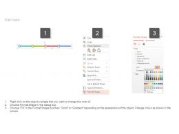 Year Based Timeline For Business Strategy Roadmap Powerpoint Slides