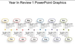 Year In Review 1 Powerpoint Graphics