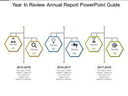 Year In Review Annual Report PowerPoint Guide