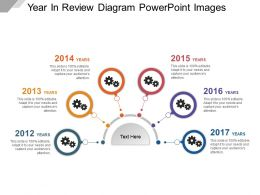 Year In Review Diagram Powerpoint Images