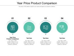 Year Price Product Comparison Ppt Powerpoint Presentation Layouts Portrait Cpb