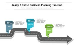 Yearly 3 Phase Business Planning Timeline