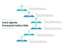 Yearly Agenda Powerpoint Gallery Slide